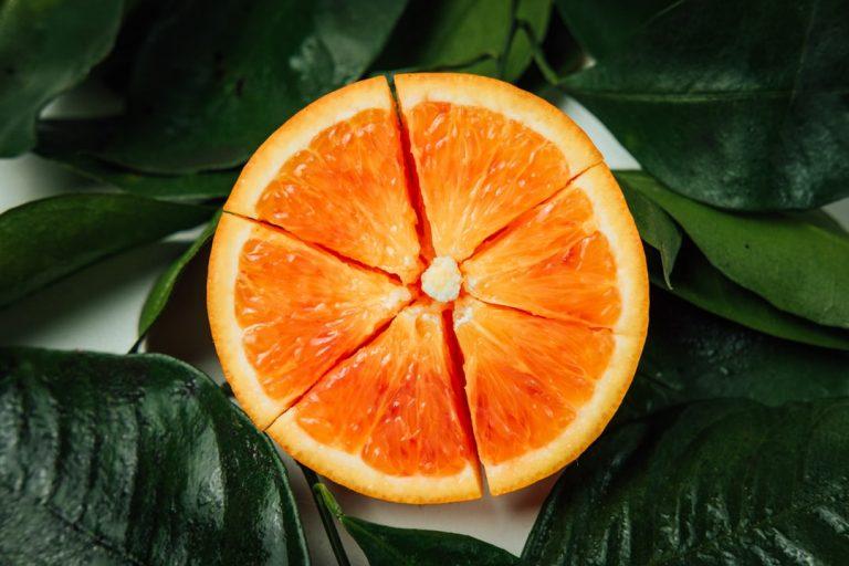 Vitamin C as an orange