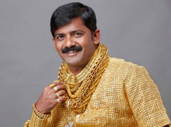 Yes this guy is wearing a solid gold shirt