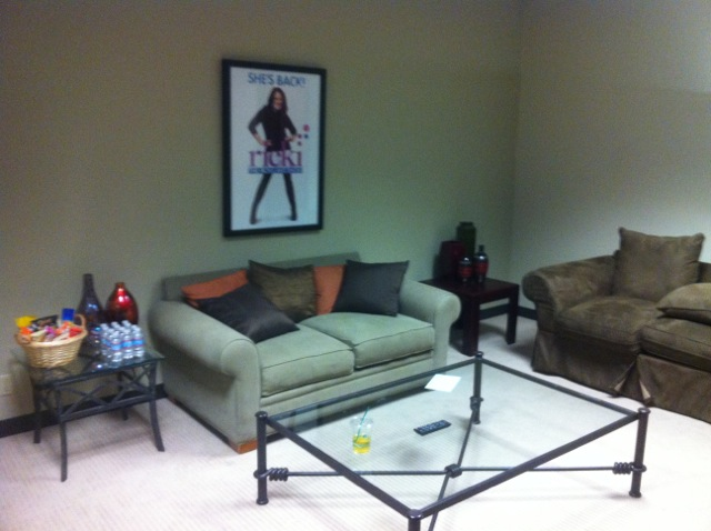 Ricki Lake Show Dressing room