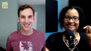 Chris Wark and Dr Yami Cazorla-Lancaster